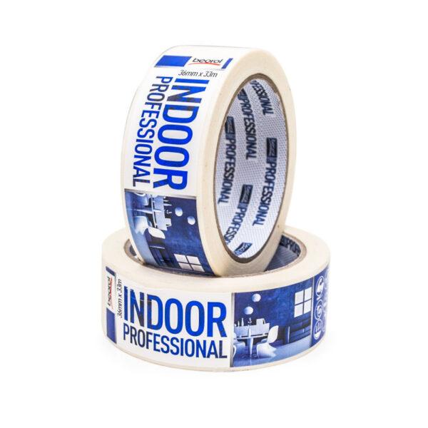 Маскуюча стрічка Indoor Professional 36мм/33м 70°C