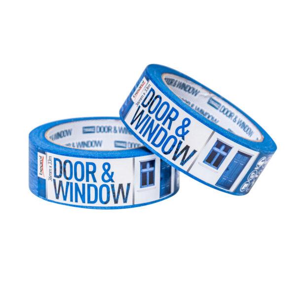 Маскуюча стрічка Door & Window Protect 36мм/33м