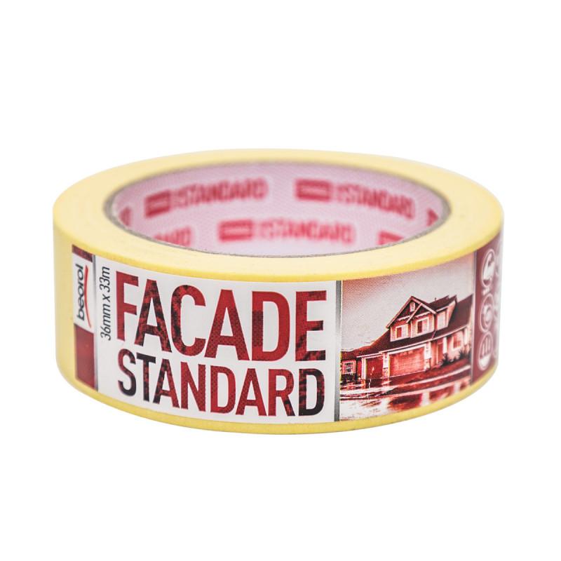Маскуюча стрічка Facade Standart 36мм/33м 80°C