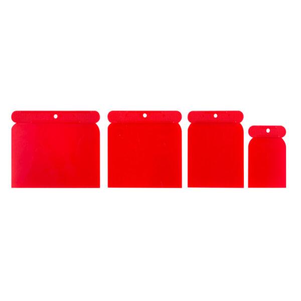 Японський шпатель PVC 4шт / комплект