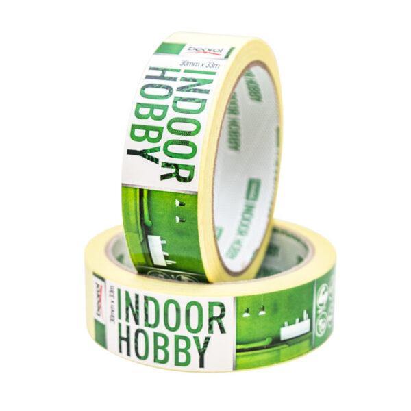 Маскуюча стрічка Indoor Hobby 30мм/33м 60°C