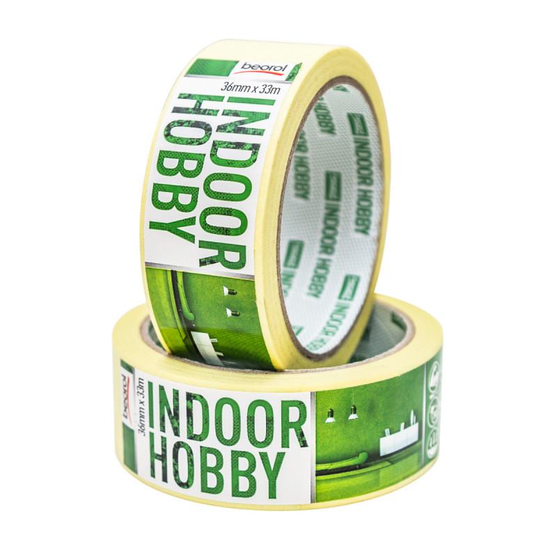 Маскуюча стрічка Indoor Hobby 36мм/33м 60°C