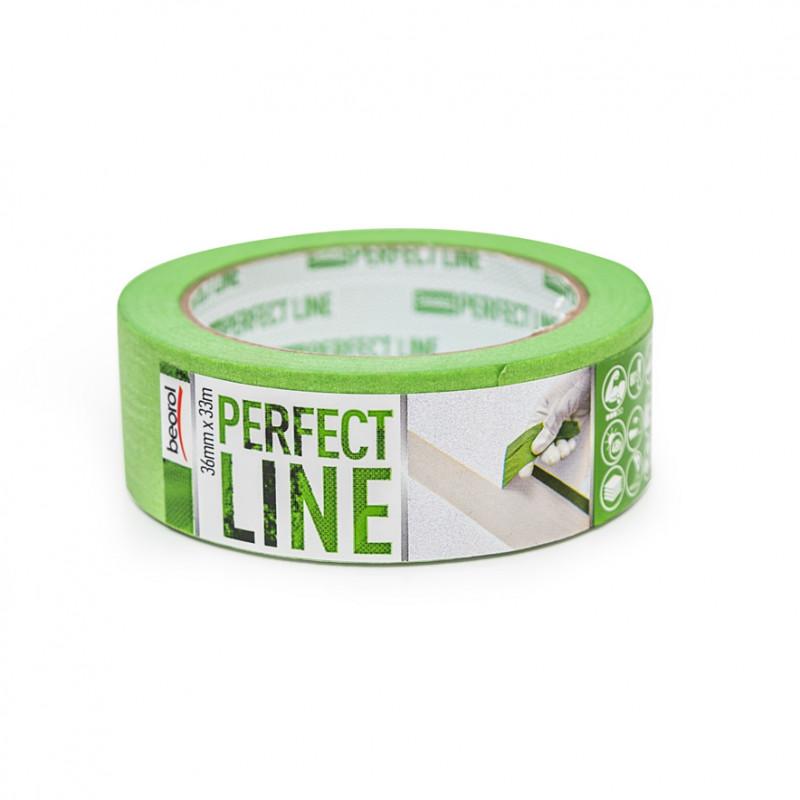 Маскуюча стрічка Perfect Line 36мм/33м 80°C
