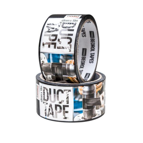 Армована клейка стрічка Duct Tape 48мм/10м чорна