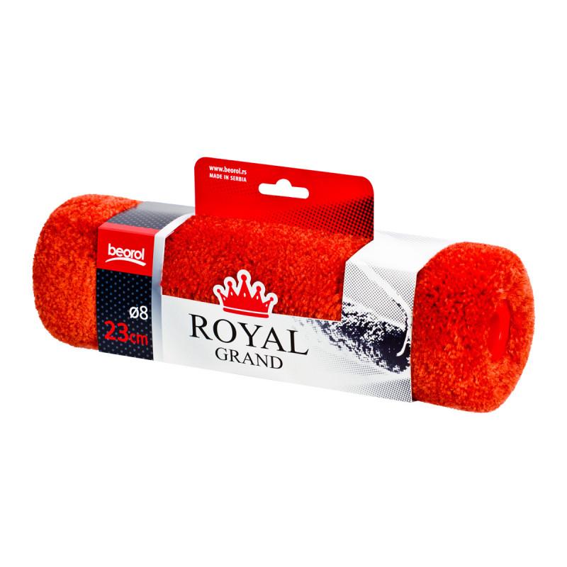 Валик поліамід 23см Ø8, ворс 18мм, Royal Grand