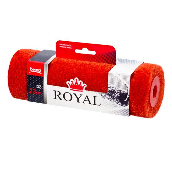 Валик поліамід 23см Ø8, ворс 18мм, Royal