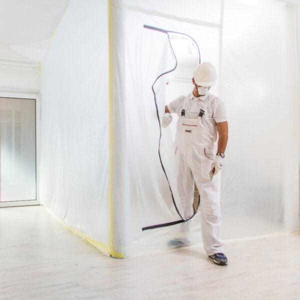 Пилозахисні двері на блискавці Beorol 1x2,3м