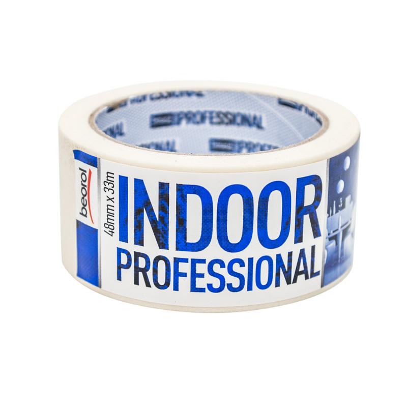 Маскуюча стрічка Indoor Professional 48мм/33м 70°C