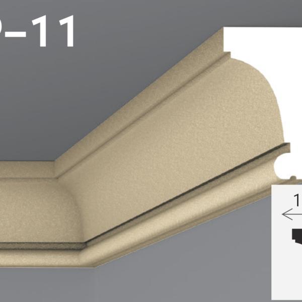 Підпокрівельний карниз 21,1x12см Yum YP-11