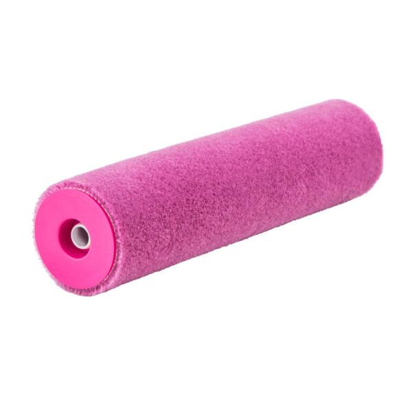 Валик мохеровий 23см Ø8, ворс 5мм, Pink Mohair