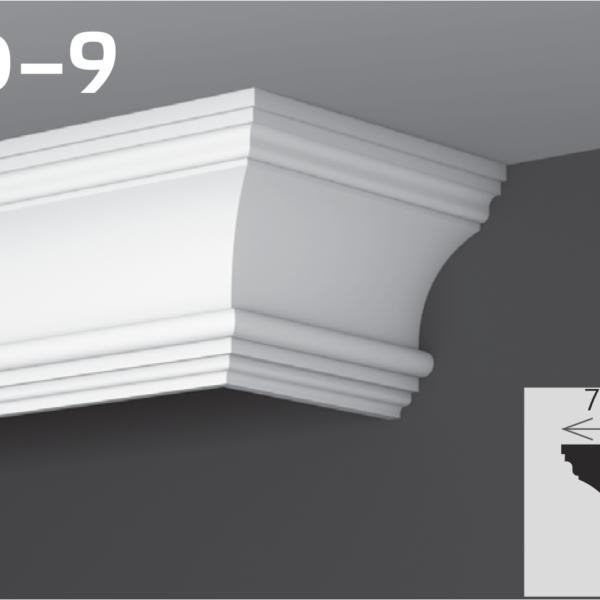 Карниз для приховування 12х7см YUM YD-9