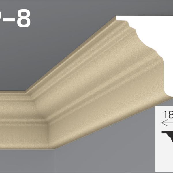 Підпокрівельний карниз 24,5x18,5см Yum YP-8